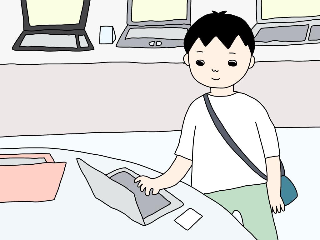 JEMTCジェムテクのノートパソコン譲渡会