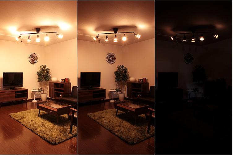 調光機能とは明るさを調節する機能
