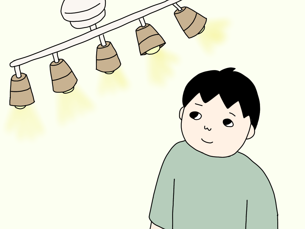 【シーリングスポットライト】5灯のクインク(Quinque)