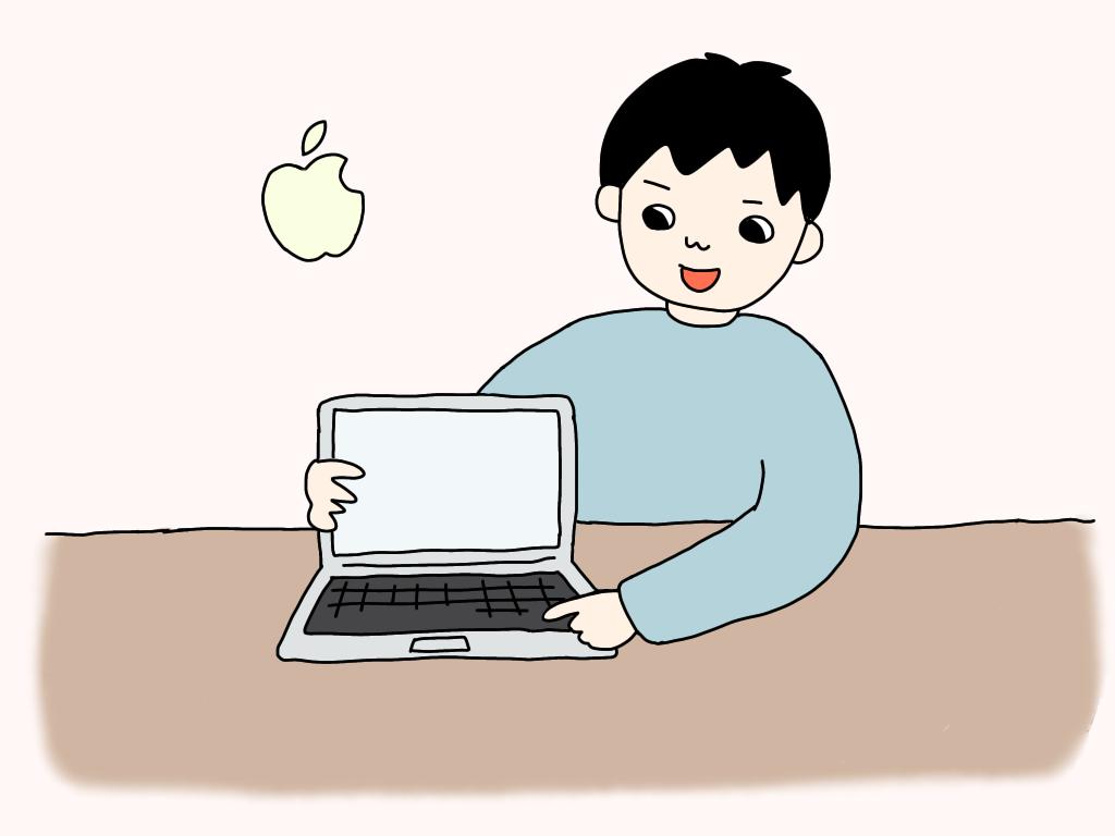 MacBook Air シザー構造キーボード